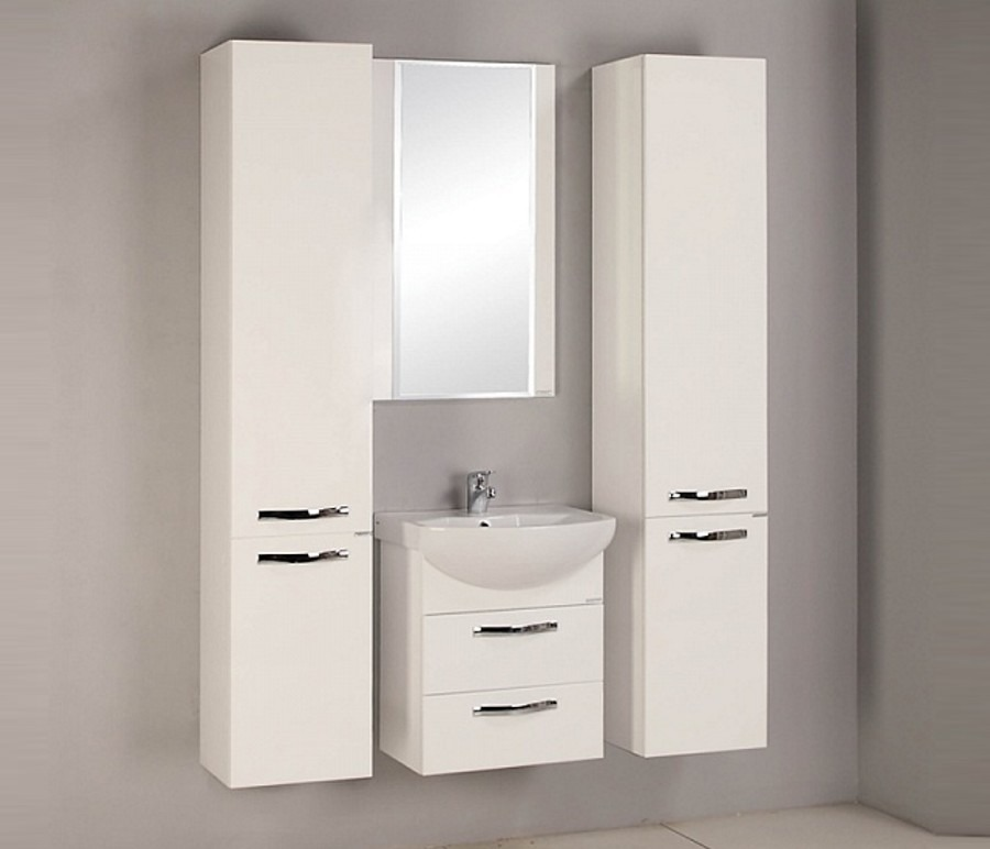 Акватон. Комплект мебели Ария 50 М в ванную комнатуКомплекты мебели для ванной<br><br><br>Длина мм: 0<br>Высота мм: 0<br>Глубина мм: 0<br>Цвет: Белый