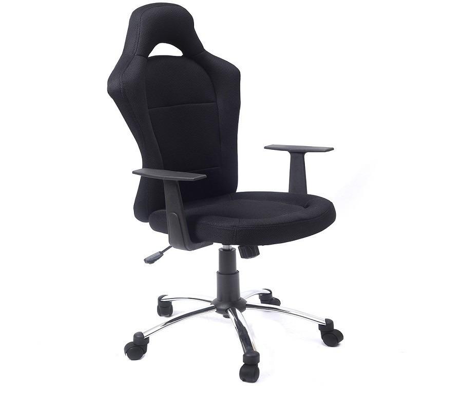 Компьютерное кресло CB10049Компьютерные<br><br><br>Длина мм: 500<br>Высота мм: 0<br>Глубина мм: 460<br>Цвет: Черный