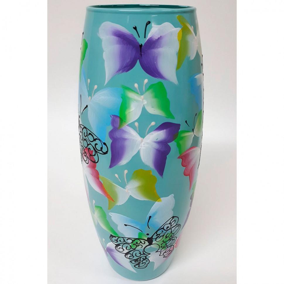 Фото - Ваза для цветов декорированная 25 см 7736/250/77-490 ваза для цветов декорированная 25 см 7736 250 77 302