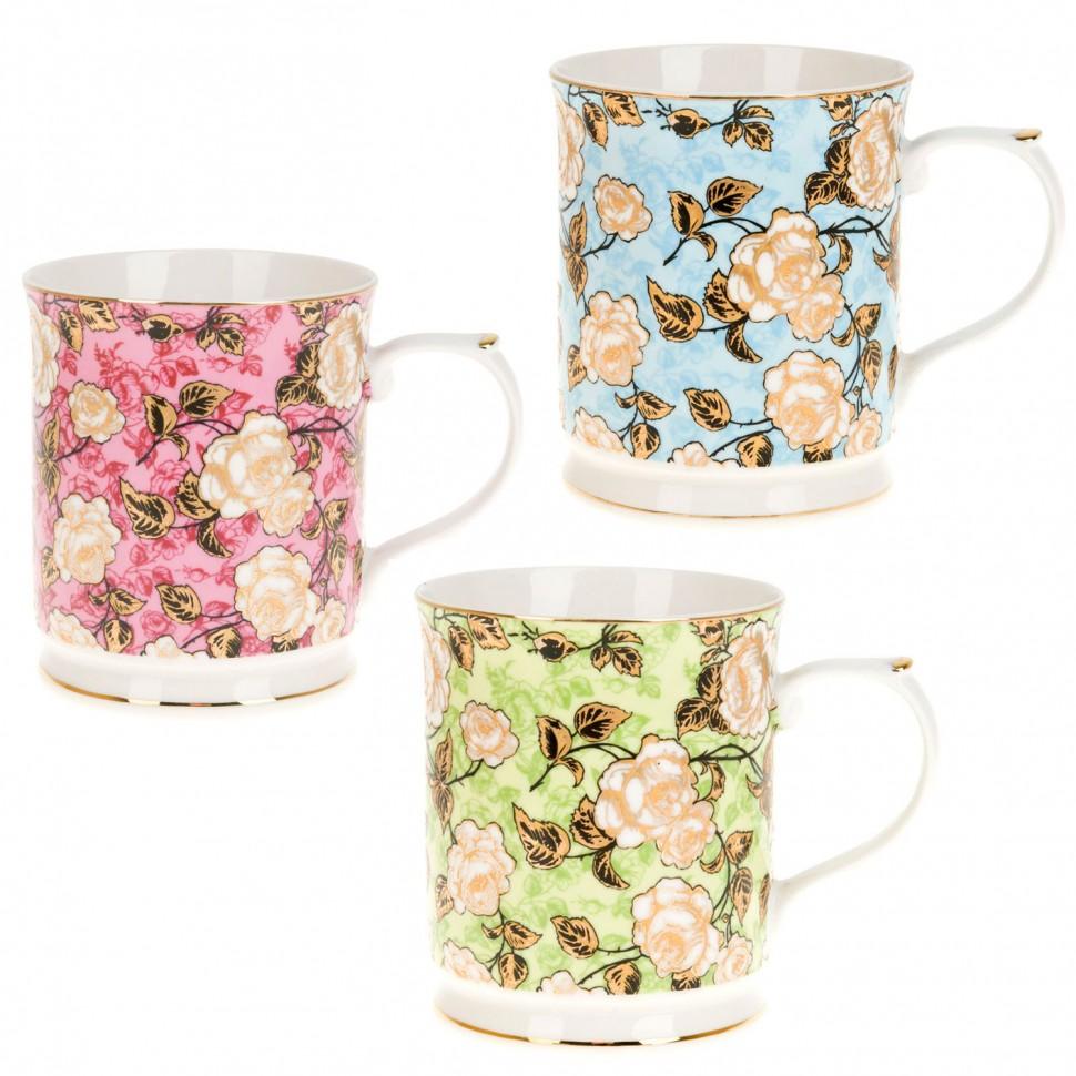 Кружка фарфоровая 400 мл Розарий Best Home Porcelain