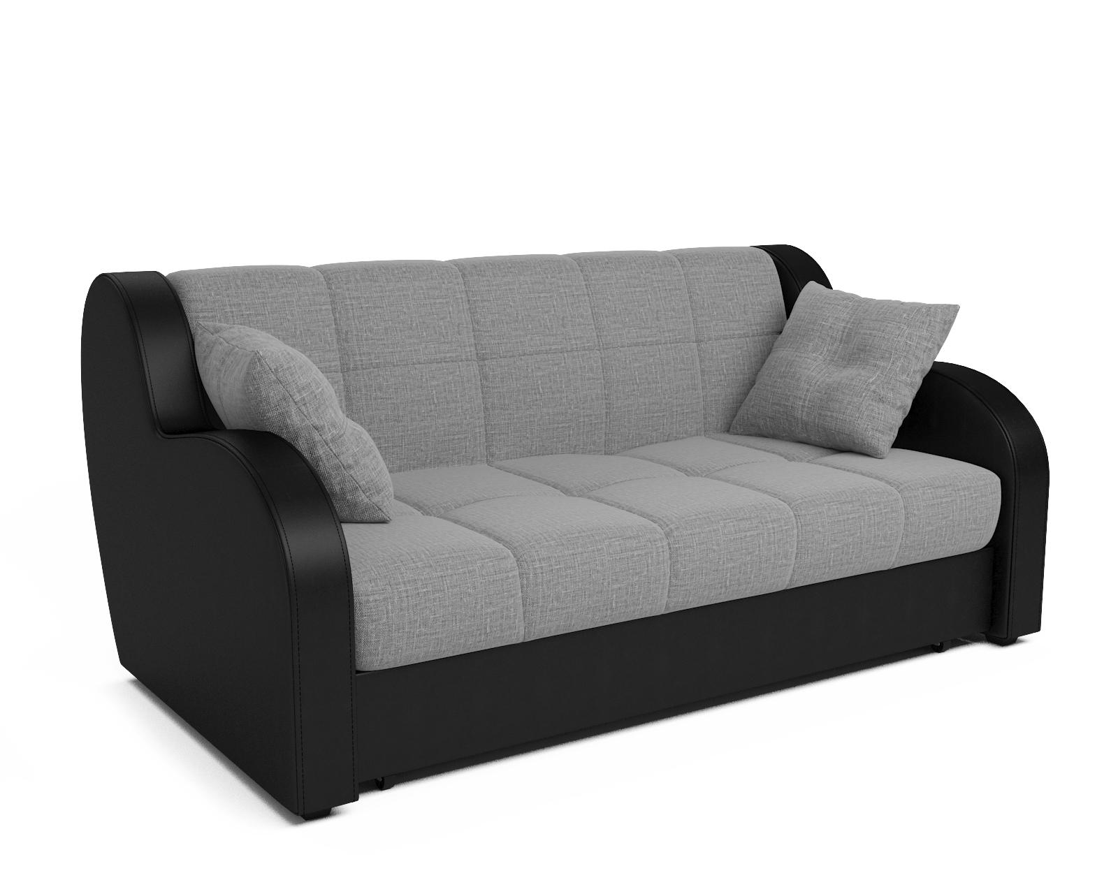 Прямой диван Аккордеон Боро (серый) фото