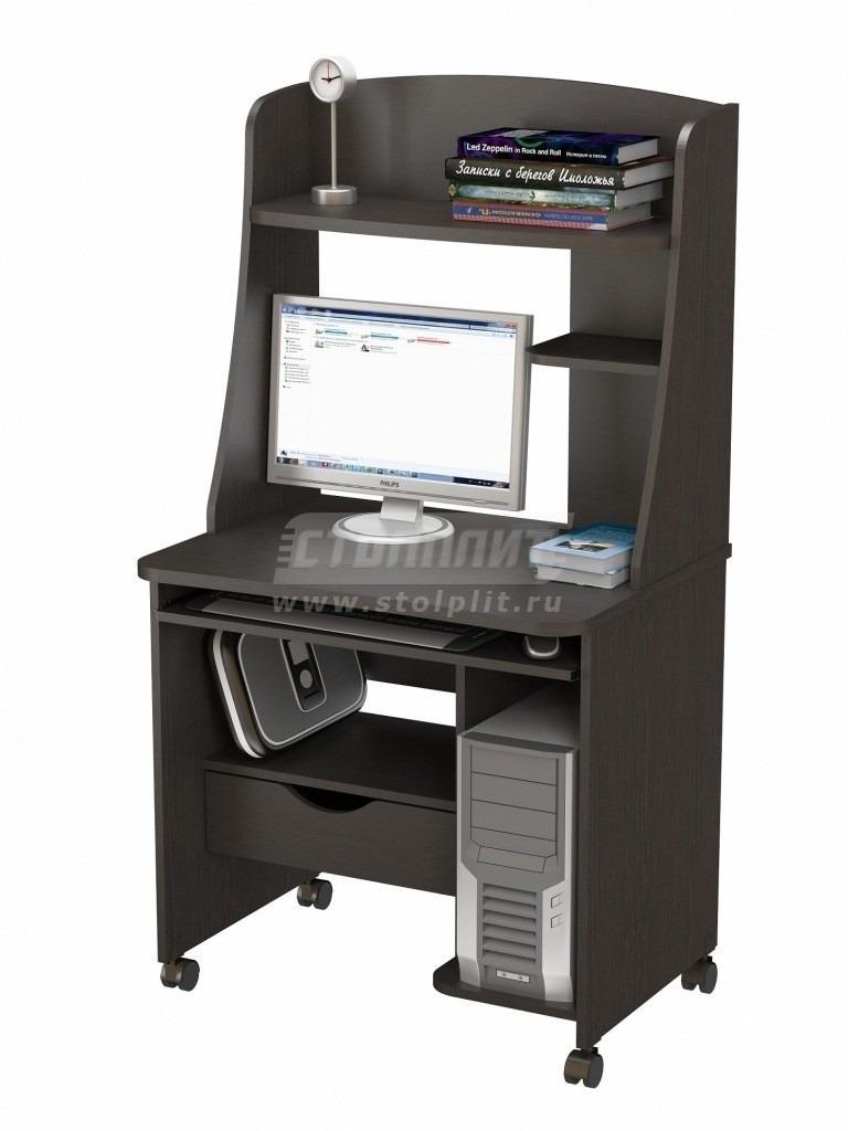 Стол компьютерный КС 2022м1Кабинет<br><br><br>Длина мм: 800<br>Высота мм: 1520<br>Глубина мм: 600