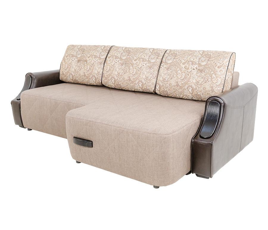 Диван Олд Траффорд угловой с полуоттоманкой правыйМягкая мебель<br><br><br>Длина мм: 2350<br>Высота мм: 890<br>Глубина мм: 1400