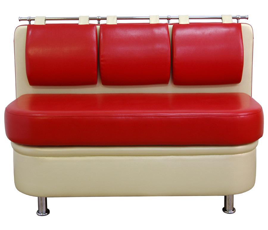 Диван Метро прямой. Ёмкость для хранения.  Обивка экокожаМягкая мебель<br><br><br>Длина мм: 150<br>Высота мм: 85<br>Глубина мм: 55