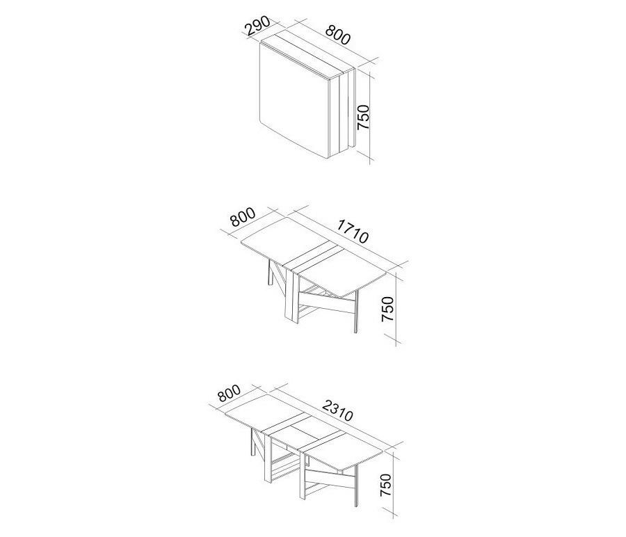 Стол-книжка Колибри-12 от Столплит
