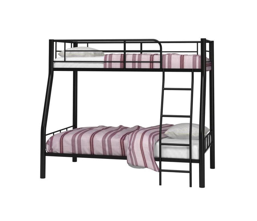 Кровать двухъярусная RedFord 201Кровати двухъярусные<br><br><br>Длина мм: 2025<br>Высота мм: 1760<br>Глубина мм: 1285<br>Цвет: Черный