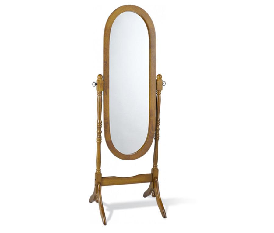 Зеркало 12600SSЗеркала<br><br><br>Длина мм: 525<br>Высота мм: 1500<br>Глубина мм: 510<br>Цвет: Орех