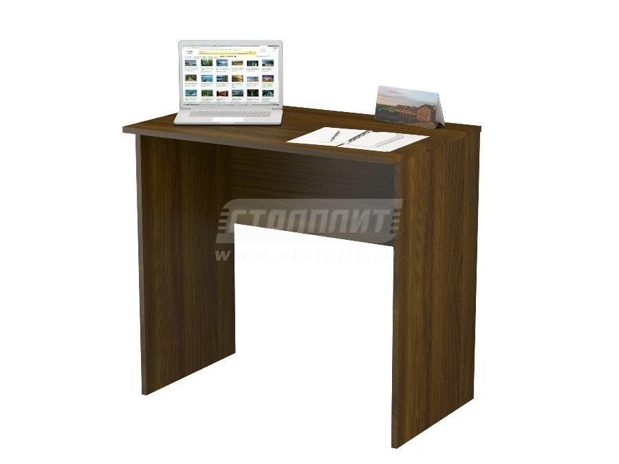 Стол письменный ПС 4001Письменные столы<br><br><br>Длина мм: 800<br>Высота мм: 770<br>Глубина мм: 500<br>Цвет: Орех Валенсия