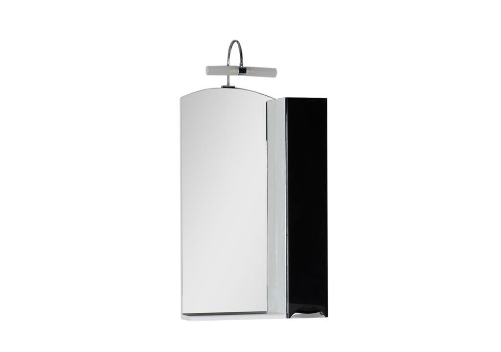 Зеркало Aquanet  Асти 55 черныйЗеркало- шкаф для ванной<br><br><br>Длина мм: 0<br>Высота мм: 0<br>Глубина мм: 0<br>Цвет: Чёрный глянец