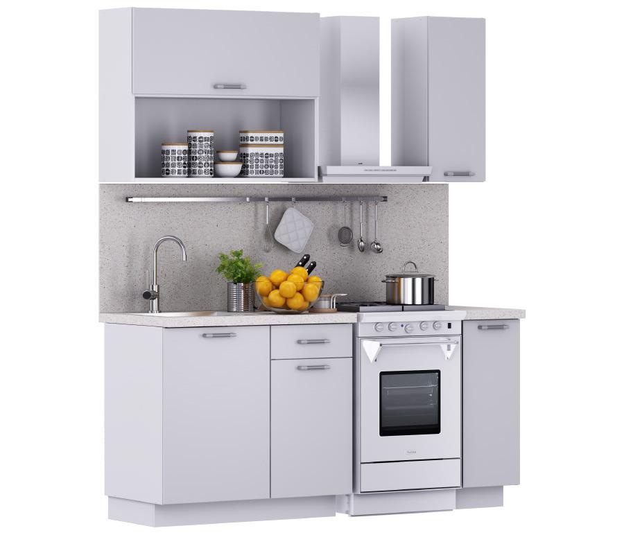 Надежда Кухня 1200 Белый (столешница Сонора + мойка круглая)Кухонные гарнитуры<br><br><br>Длина мм: 0<br>Высота мм: 0<br>Глубина мм: 0