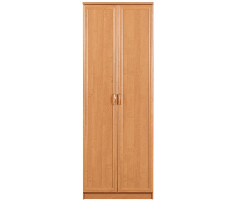 Симба СР-42 Шкаф 2-х дверныйШкафы<br>Удобный двухдверный платяной шкаф.<br><br>Длина мм: 800<br>Высота мм: 2235<br>Глубина мм: 590