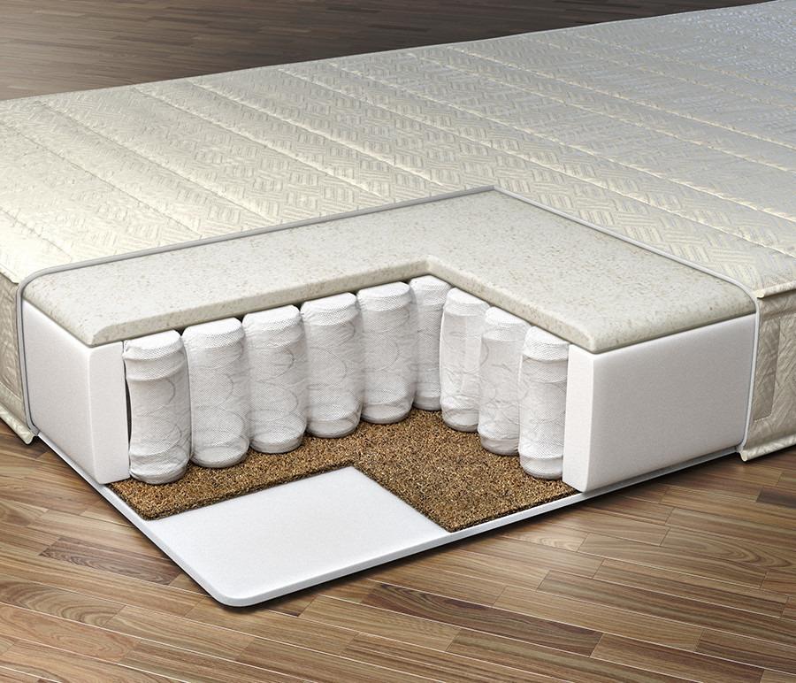 Матрас Галактика сна - Арета 1800*1950Мебель для спальни<br>Комплекс независимых пружин, лежащий в основе модели, имеет повышенную надежность. Он эффективно поддерживает тело, адаптируясь к его особенностям и Вашей любимой позе во время сна.  В качестве наполнителя комфортного слоя используется материал струттофайбер с добавлением льна - комбинированный гигиеничный материал, обеспечивающий среднюю жесткость, а также вентилируемость матраса. Материал обладает антисептическими и противовоспалительными свойствами, восстанавливает форму даже после длительных нагрузок, а также поддерживает постоянную температуру спального места. Слой натуральных волокон кокоса отличается особой прочностью и упругостью, что улучшает уровень поддержки матраса. Вы великолепно выспитесь за ночь, а утром встанете полными сил и энергии! Рекомендовано использование вместе с защитным чехлом Aquastop.&#13;Периметр: усилен ППУ&#13;Высота: 17&#13;Основа: Блок независимых пружин формы песочных часов 256 шт/м2&#13;Чехол: Чехол - высокопрочный хлопковый жакард итальянской компании Stellini, стеганный на синтепоне  &#13;Наполнитель: Струттофайбер лен, спанбонд, латексированная кокосовая плита&#13;Нагрузка: 100<br><br>Длина мм: 1800<br>Высота мм: 170<br>Глубина мм: 1950<br>Длина матраса: 1950<br>Ширина матраса: 1800