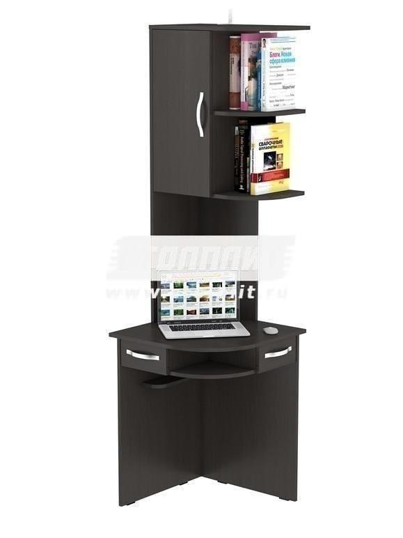 Стол компьютерный КС 2044Компьютерные столы<br><br><br>Длина мм: 600<br>Высота мм: 2060<br>Глубина мм: 600