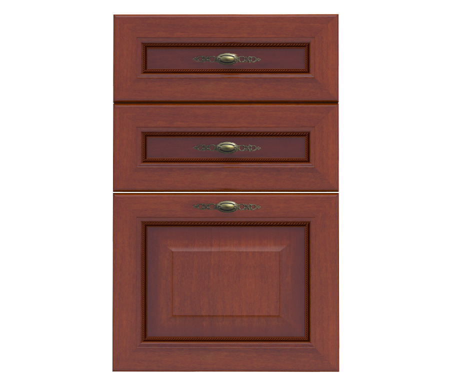 Фасад Регина Н-50Мебель для кухни<br>Ни что не вечно под луной! Тускнеют краски, появляются сколы и царапины и, наконец, приходит время, когда просто необходимо внести коррективы в приевшийся декор кухни. Освежить или даже кардинально изменить интерьер помогут мебельные фасады. Согласитесь, гораздо удобней просто поменять их, чем покупать новую мебель, тем более, что корпуса не так сильно, как дверцы страдают в процессе эксплуатации. Фасад Регина Н-50   идеальный вариант для продления жизни любимому кухонному столу с 3-мя выдвижными полками. Но это не единичное предложение, у нас на сайте вы сможете обновить любую мебель.<br><br>Длина мм: 496<br>Высота мм: 713<br>Глубина мм: 19