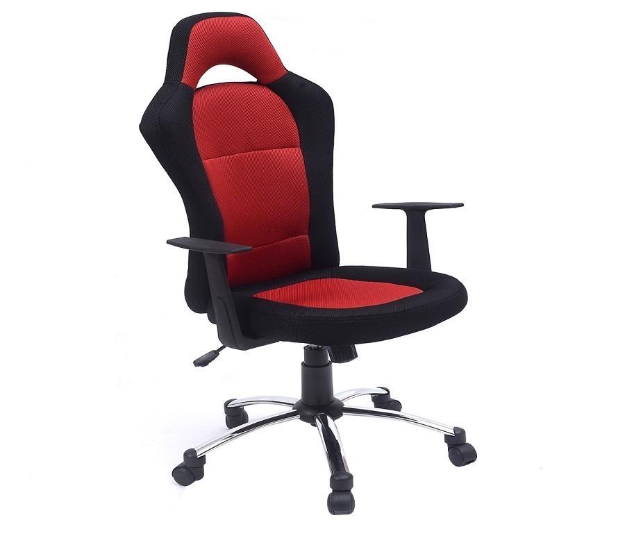 Компьютерное кресло CB10049Компьютерные<br><br><br>Длина мм: 500<br>Высота мм: 0<br>Глубина мм: 460<br>Цвет: Красный/ Чёрный