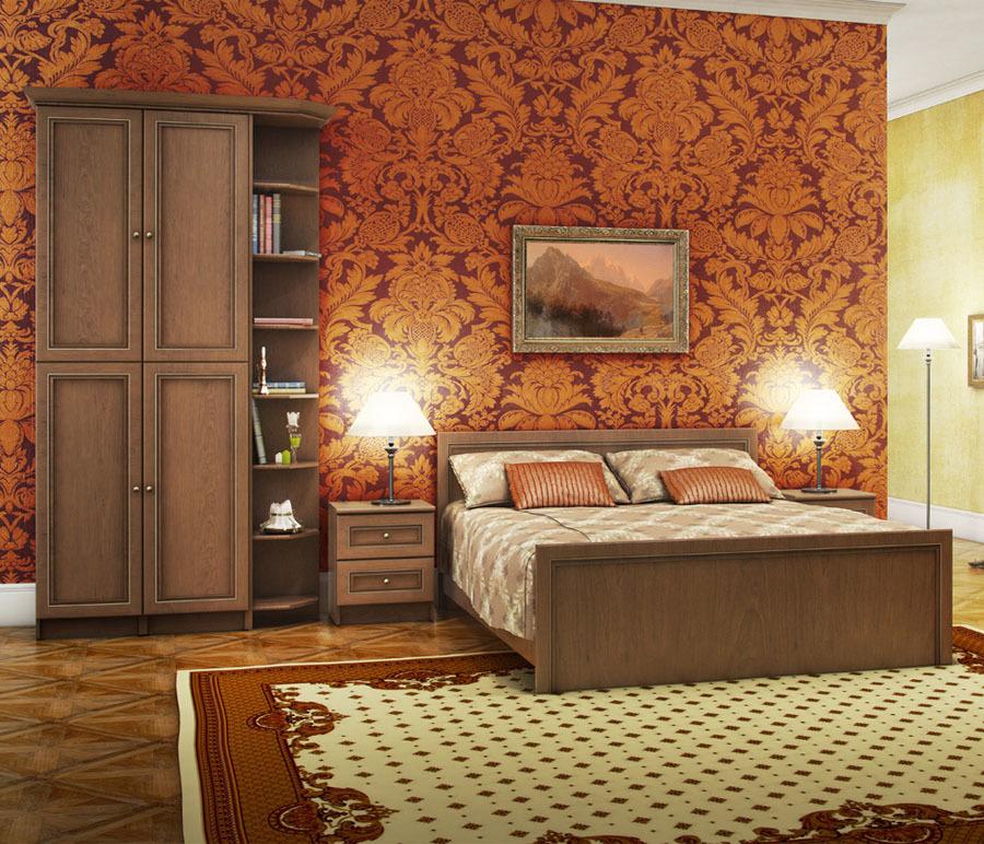 Венеция Вишня Эльба Спальня Набор 1Готовые комплекты<br><br><br>Длина мм: 0<br>Высота мм: 0<br>Глубина мм: 0