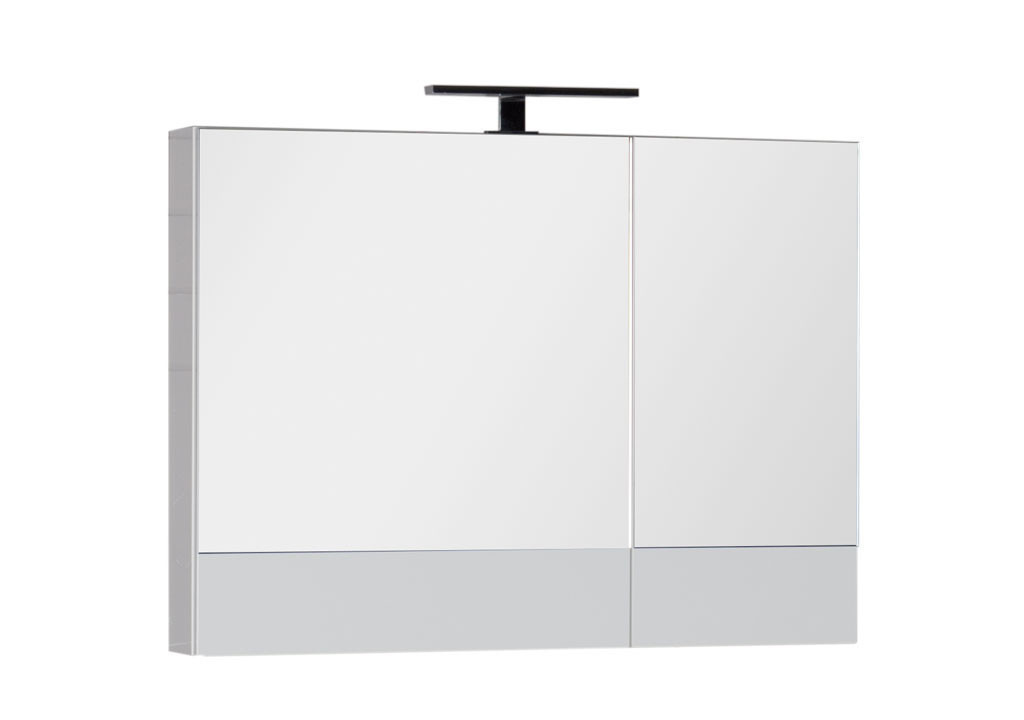 Зеркало Aquanet Нота 90 белыйЗеркало- шкаф для ванной<br><br><br>Длина мм: 0<br>Высота мм: 0<br>Глубина мм: 0<br>Цвет: Белый Глянец
