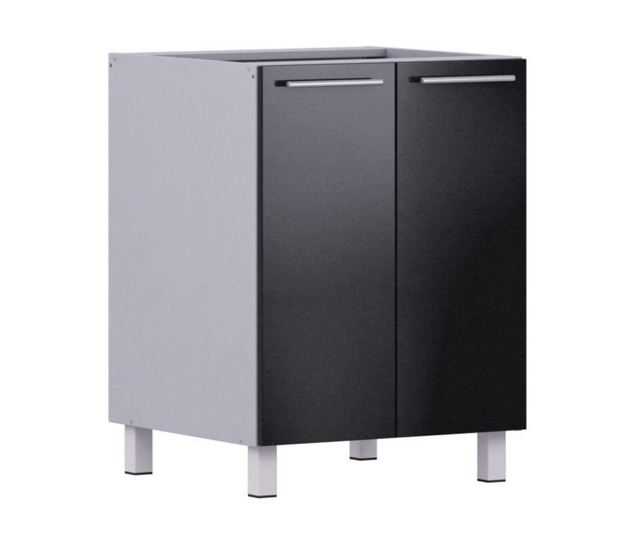 Анна АС-60 стол с 2-мя фасадамиМебель для кухни<br><br><br>Длина мм: 600<br>Высота мм: 820<br>Глубина мм: 563