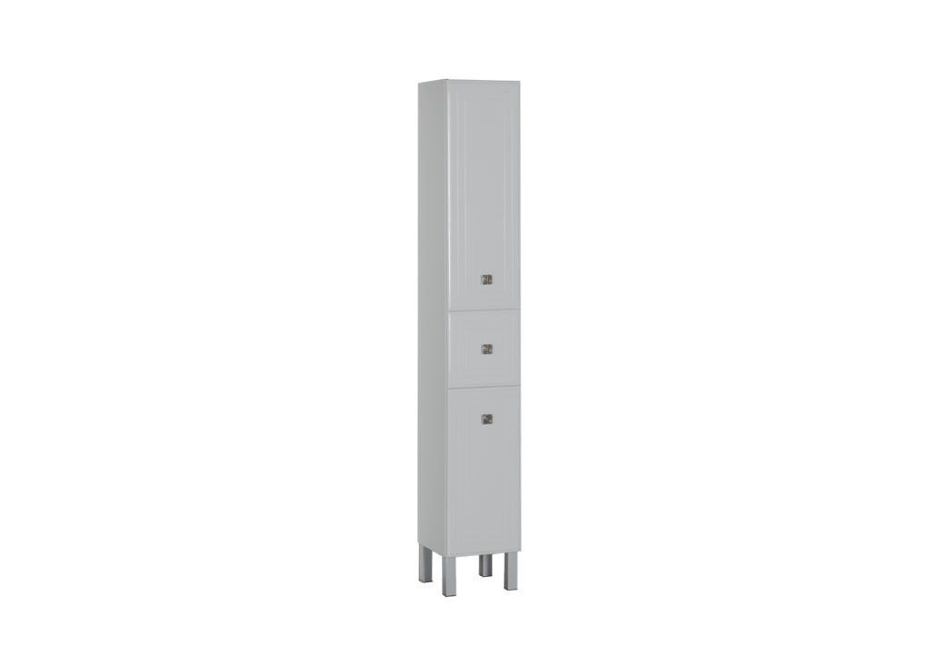 Пенал Aquanet Стайл 30 белыйШкафы пеналы для ванной<br><br><br>Длина мм: 0<br>Высота мм: 0<br>Глубина мм: 0<br>Цвет: Белый Глянец