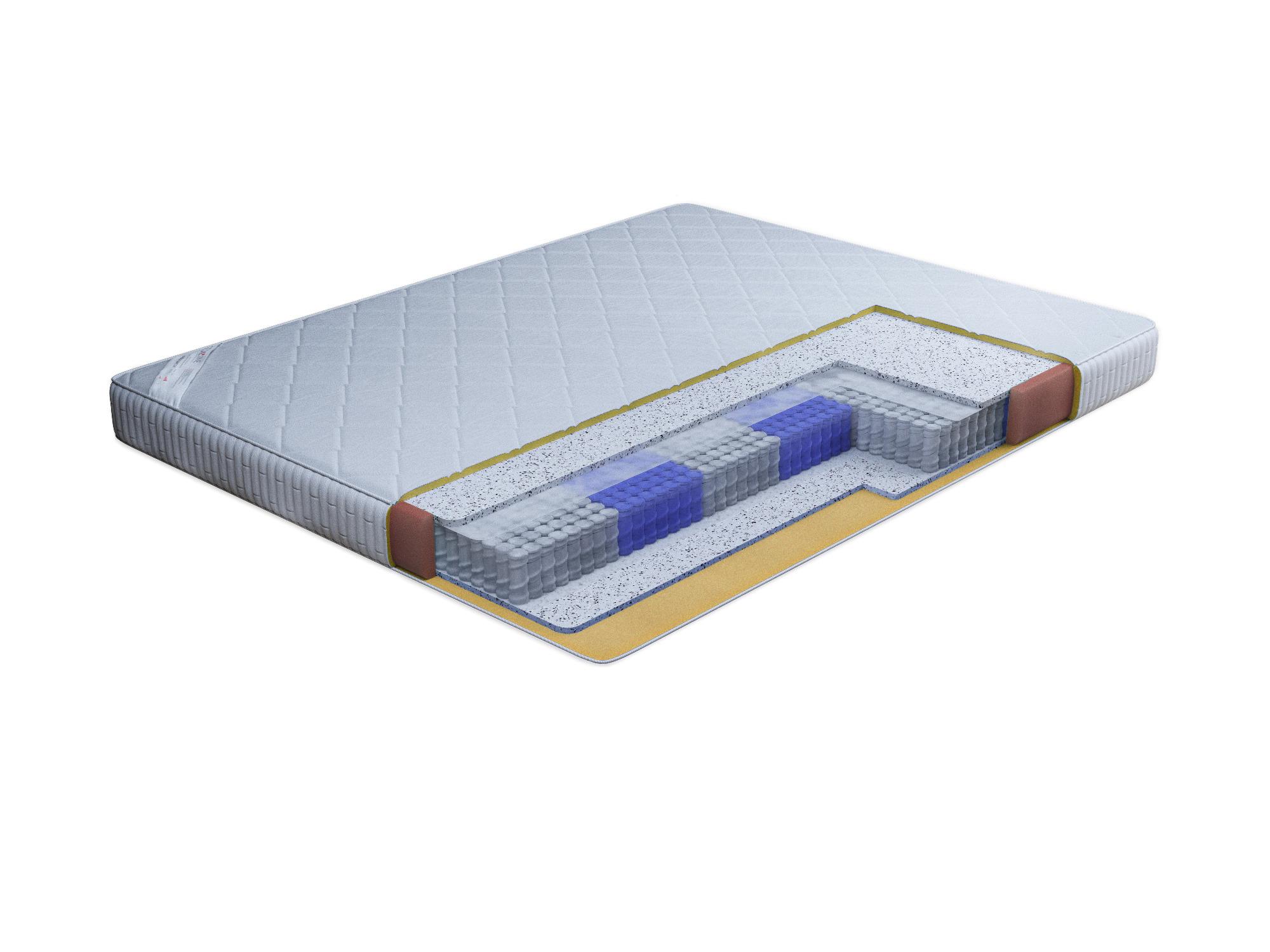 Матрас Престиж-Орлеан 900*2000Мебель для спальни<br>Матрас высокого уровня комфорта на основе блока независимых пружинPocketspring. В качестве наполнителя используется струттофайбер с кокосовым волокном. Это объемный нетканый материал. Характеризуется высокими теплозащитными свойствами, отличной восстанавливаемостью после сжатия, хорошей воздухопроницаемостью, антиаллергенностью. Придает матрасу мягкость. Изготавливается исключительно из первосортных полиэфирных волокон, без применения клея или дополнительной пропитки.Чехол стеганный на синтепоне из хлопкового жаккарда. Матрас  Престиж - Орлеан  средней жесткости подойдет большинству здоровых людей в возрасте от 25 до 50 лет и ведущих активный образ жизни. Максимальная нагрузка на 1 спальное место 100кг. &#13;Высота: 18-20; &#13;Периметр: пенополиуретан; &#13;Основа: блок независимых пружин (Pocket spring); &#13;Чехол: жаккард хлопковый, стеганный на синтепоне; &#13;Наполнитель: струттофайбер с кокосовым волокном; &#13;Макс. нагрузка на 1 спальное место: до 100 кг.<br><br>Длина мм: 900<br>Высота мм: 180<br>Глубина мм: 2000<br>Длина матраса: 2000<br>Ширина матраса: 900<br>Высота матраса: 200<br>Жесткость матраса: Средняя<br>Тип матраса: блок независимых пружин