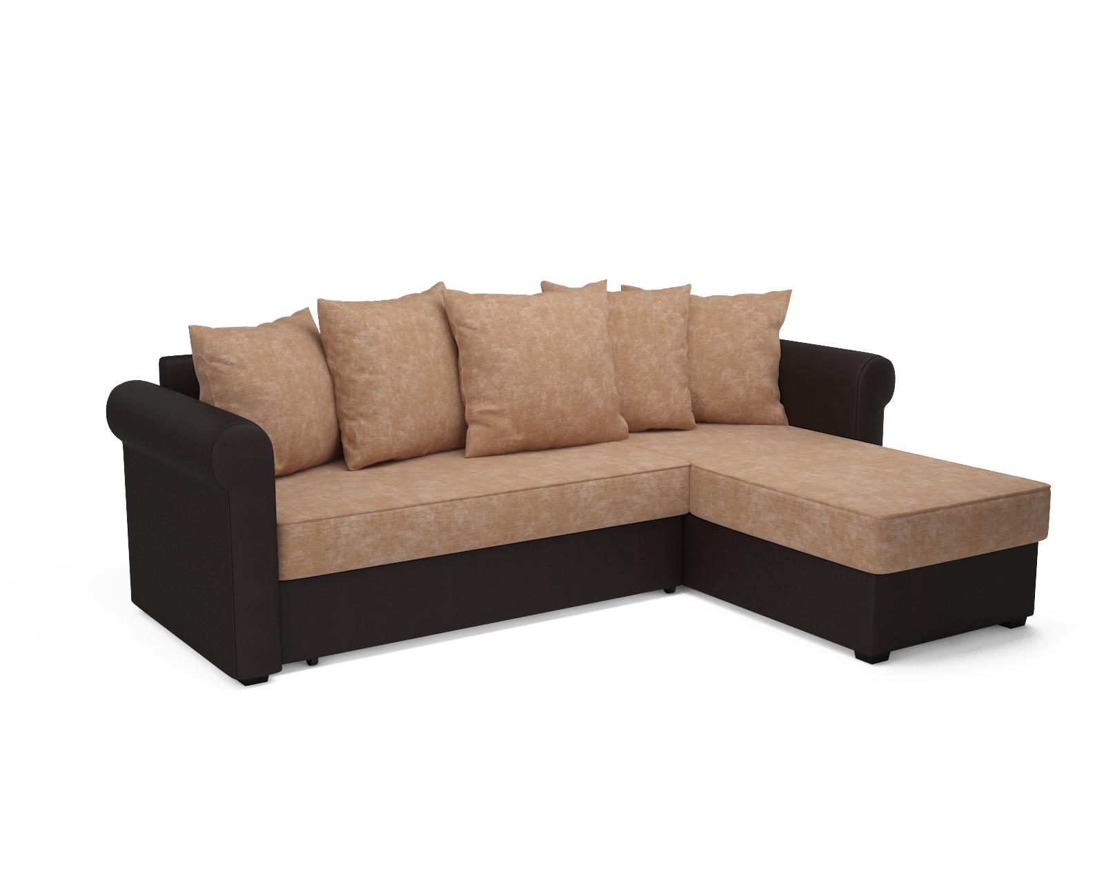 Угловой диван Стивен (кордрой бежевый)