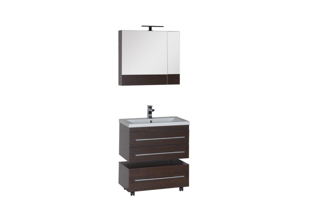 Комплект мебели Aquanet Нота 75 камериноКомплекты мебели для ванной<br><br><br>Длина мм: 0<br>Высота мм: 0<br>Глубина мм: 0<br>Цвет: Венге