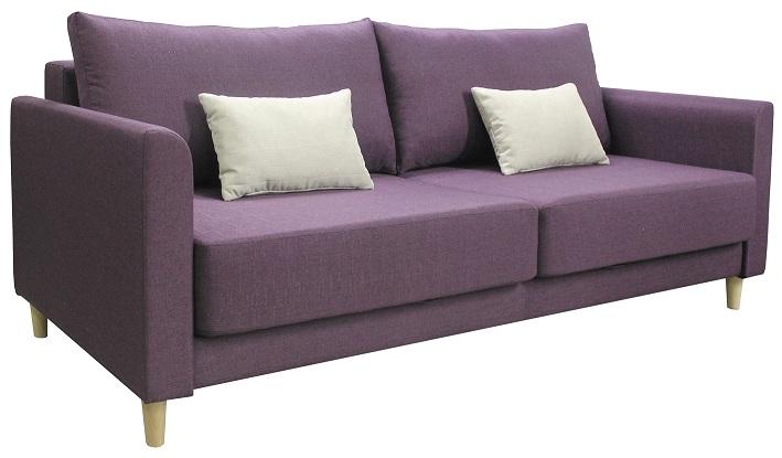 Прямой диван Юстин рогожка фото