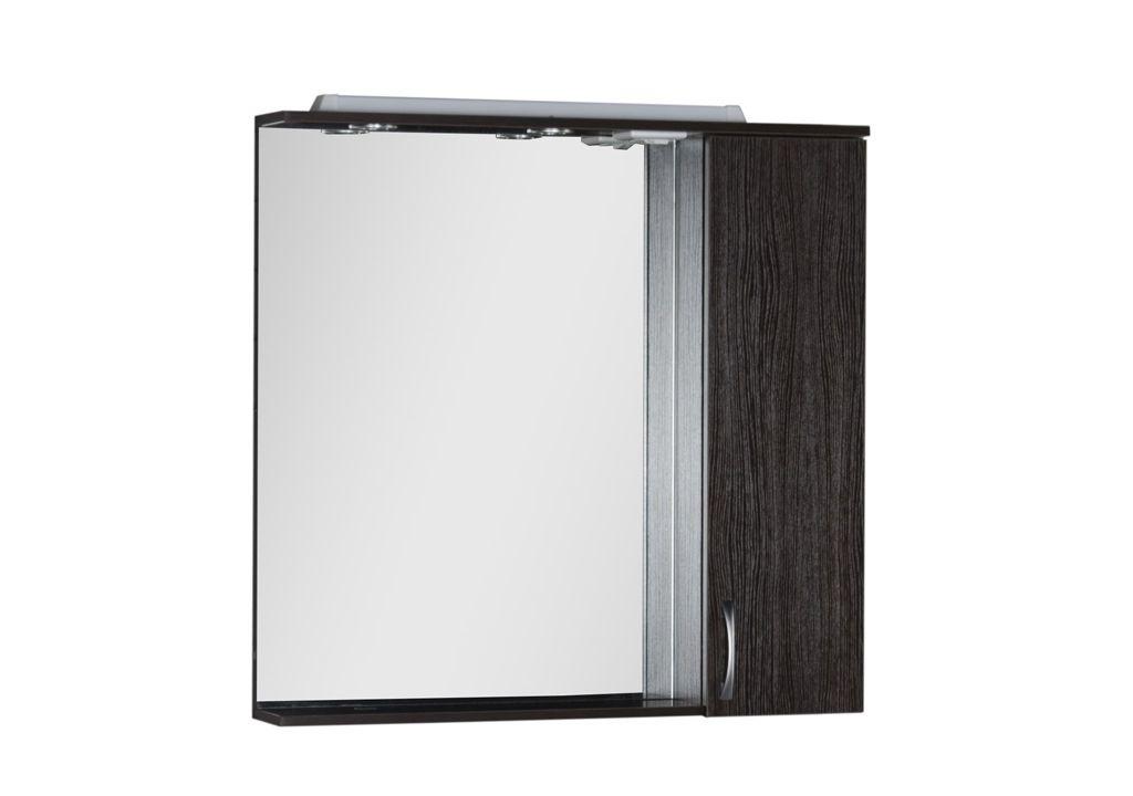Зеркало-шкаф Aquanet Донна 90 со светильником + розетка
