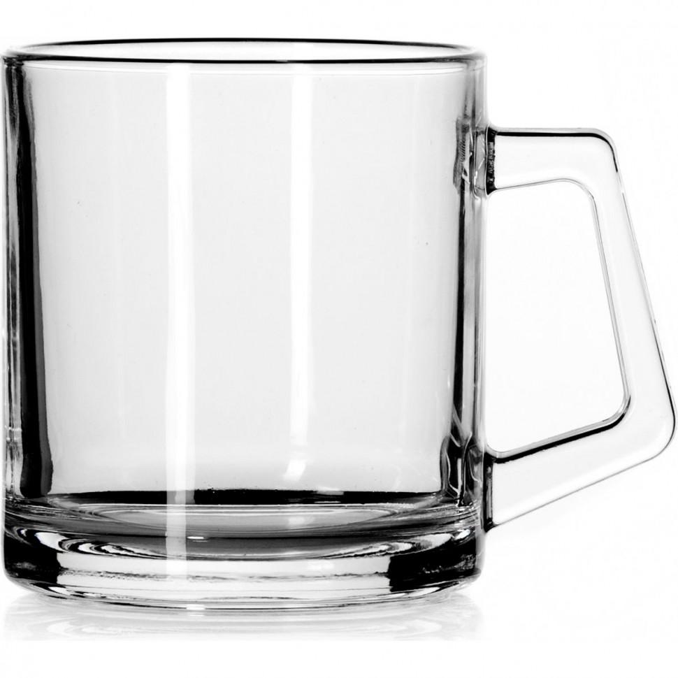 Фото - Кружка стеклянная Pasabahce Basic 380 мл кружка стеклянная pasabahce грей 325 мл