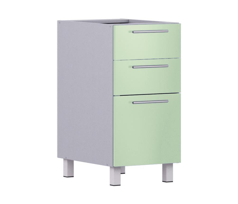 Анна АСЯ-40 стол  с 3-мя ящикамиМебель для кухни<br>Компактный стол Анна Ася-40 с тремя ящиками шириной 400 мм не займет много места, он идеально подойдет как для просторных помещений, так и для небольшой кухни. Дополнительно рекомендуем приобрести столешницу.<br><br>Длина мм: 400<br>Высота мм: 820<br>Глубина мм: 563