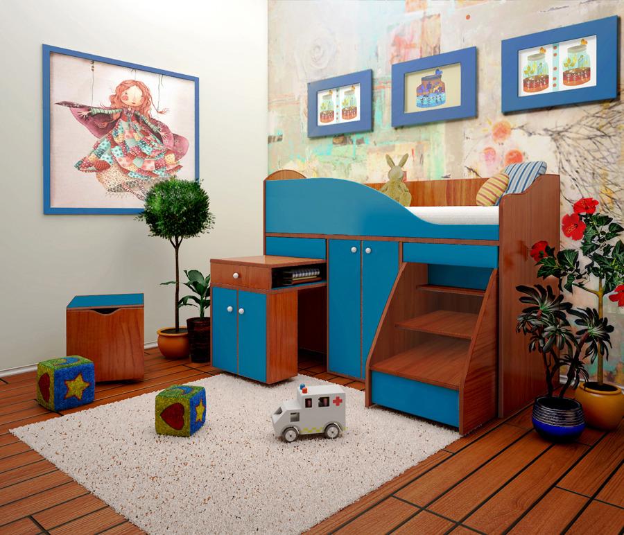 Детский комплекс Вжик со шкафом