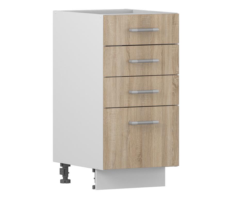 Надежда НСЯ-40 Шкаф-Стол с ящикамиМебель для кухни<br><br><br>Длина мм: 400<br>Высота мм: 820<br>Глубина мм: 515