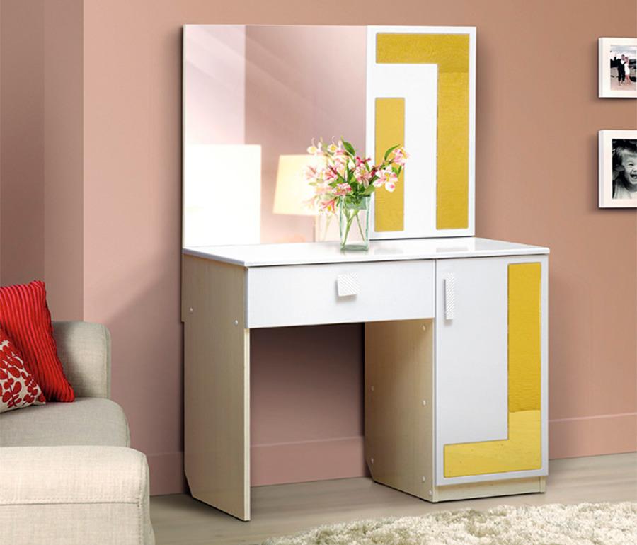 Стол туалетный с зеркалом ЛабиринтТуалетные столики<br><br><br>Длина мм: 905<br>Высота мм: 1390<br>Глубина мм: 450
