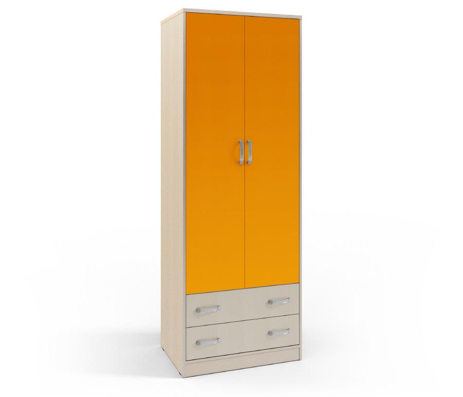 Фред СБ-1011 Шкаф 2-х дверный с 2-мя ящикамиШкафы<br><br><br>Длина мм: 800<br>Высота мм: 2235<br>Глубина мм: 559