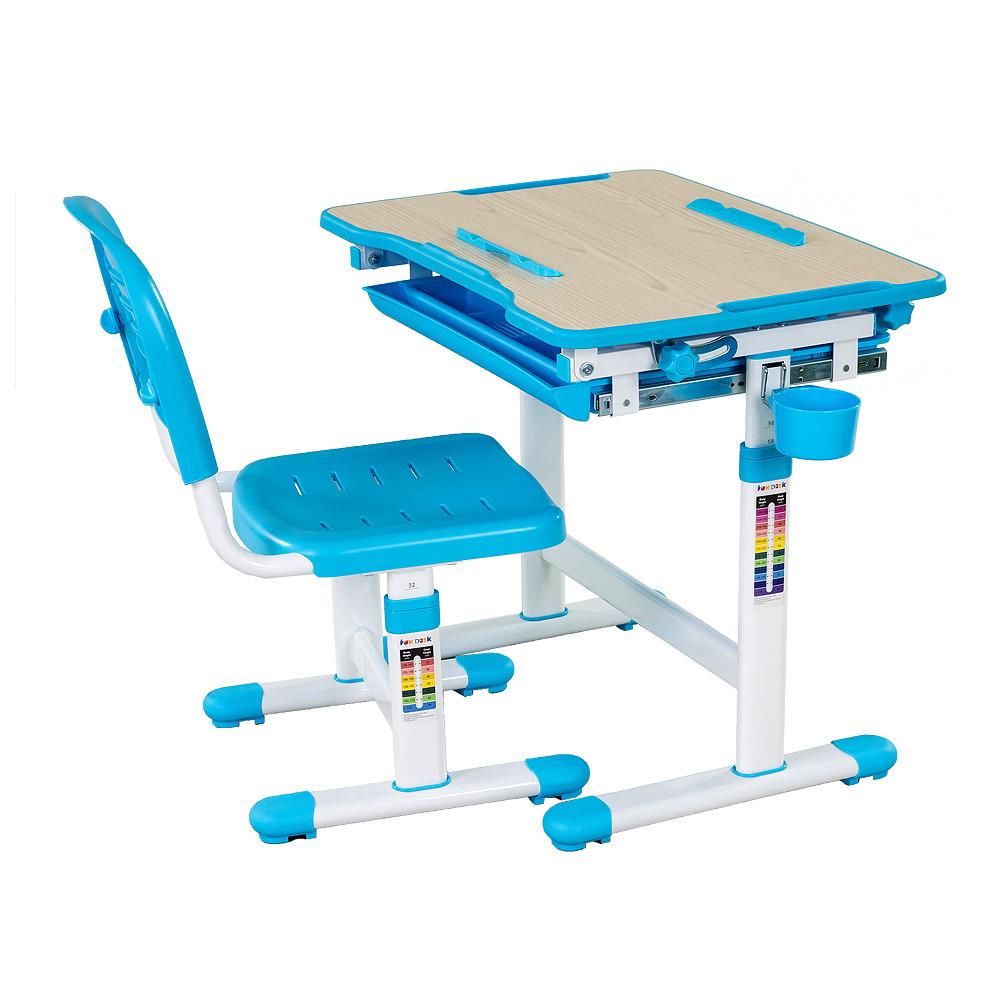 Комплект парта и стул BambinoДетские парты, столы и стулья<br><br><br>Длина мм: 210<br>Высота мм: 535<br>Глубина мм: 735