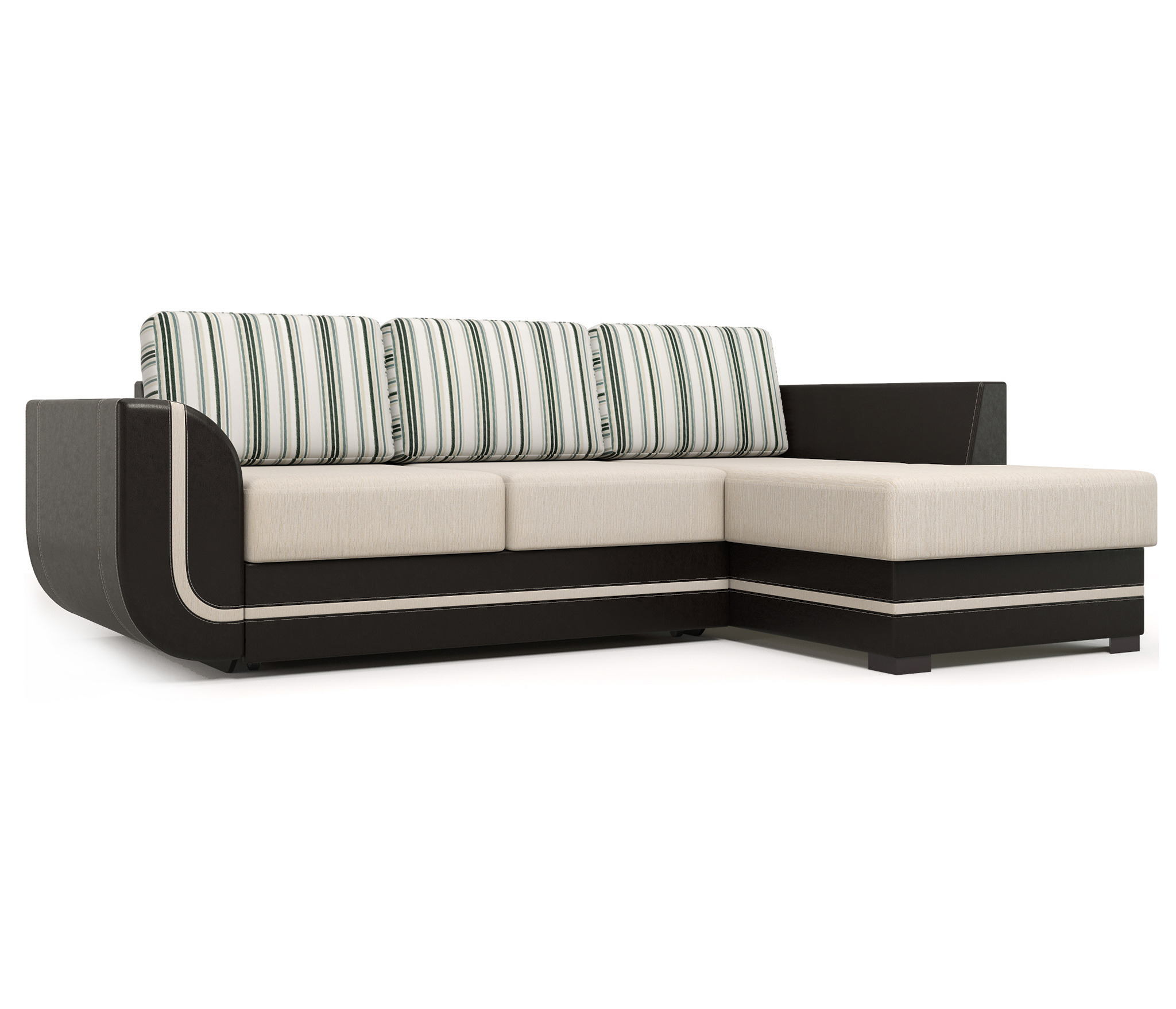 Угловой диван Чикаго 1(правый)Мягкая мебель<br><br><br>Длина мм: 2360<br>Высота мм: 670<br>Глубина мм: 1590