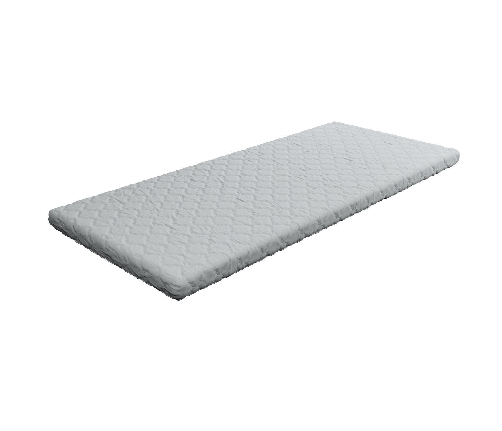 Матрас Топпер-Прима 800*1900Кровати<br>Топпер- это идеальное экономичное решение для дач, для выравнивания спального места на диване и для всех тех, кто хочет получить максимум комфорта при минимальных затратах.&#13;Блок ППУ высокой прочности, обе стороны ровные, чехол несъемный. Ткань чехла Stelline, плотностью 11 pix.&#13;Толщина 40 мм.&#13;Макс. нагрузка 100 кг, при использовании на диване или матрасе.<br><br>Длина мм: 800<br>Высота мм: 40<br>Глубина мм: 1900<br>Длина матраса: 1900<br>Ширина матраса: 800