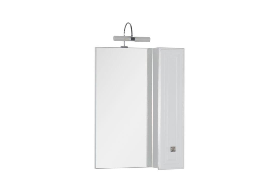 Зеркало Aquanet Стайл 65 белыйЗеркало- шкаф для ванной<br><br><br>Длина мм: 0<br>Высота мм: 0<br>Глубина мм: 0<br>Цвет: Белый Глянец