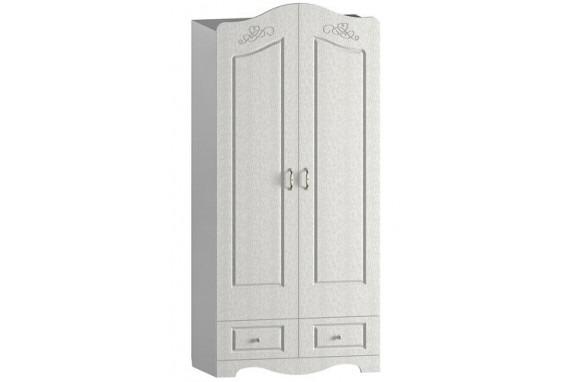 Шкаф для одежды и белья двухстворчатый Спутник