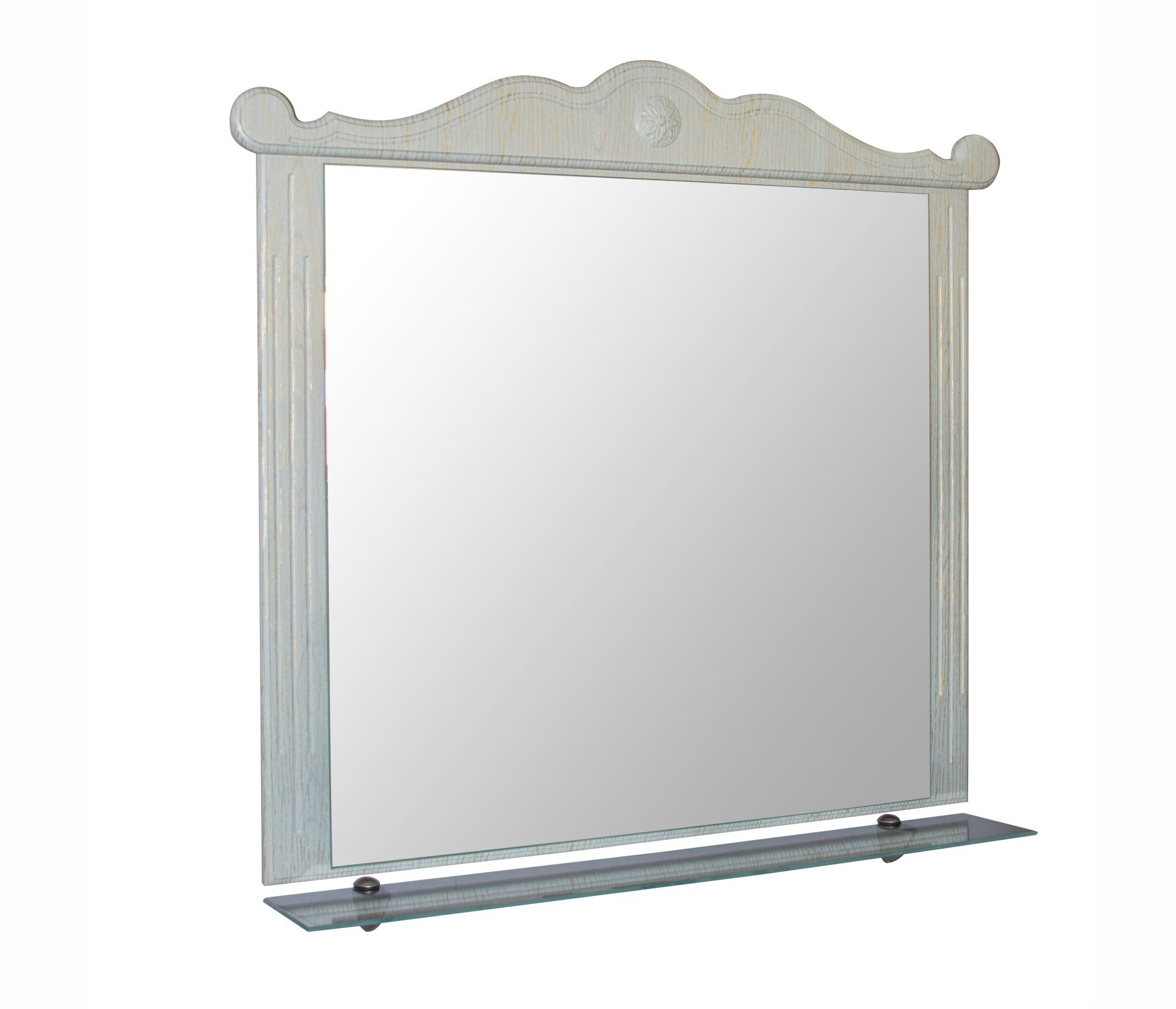 Зеркало ПРОВАНС-105 зеленый без подсветки (ПВХ) недорого