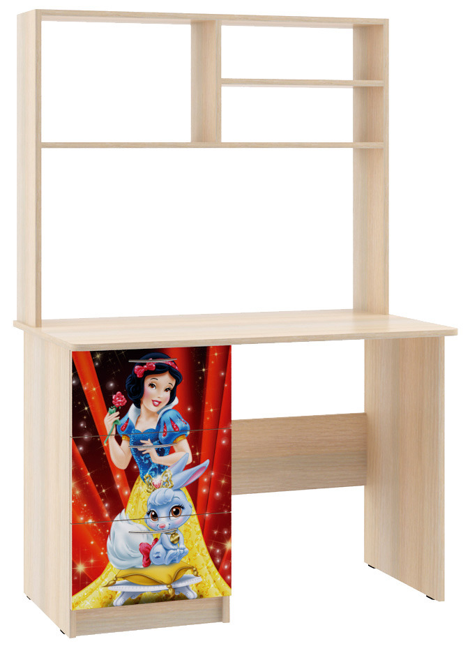 Стол для детской ПринцессаДетская<br><br><br>Длина мм: 1000<br>Высота мм: 1500<br>Глубина мм: 600