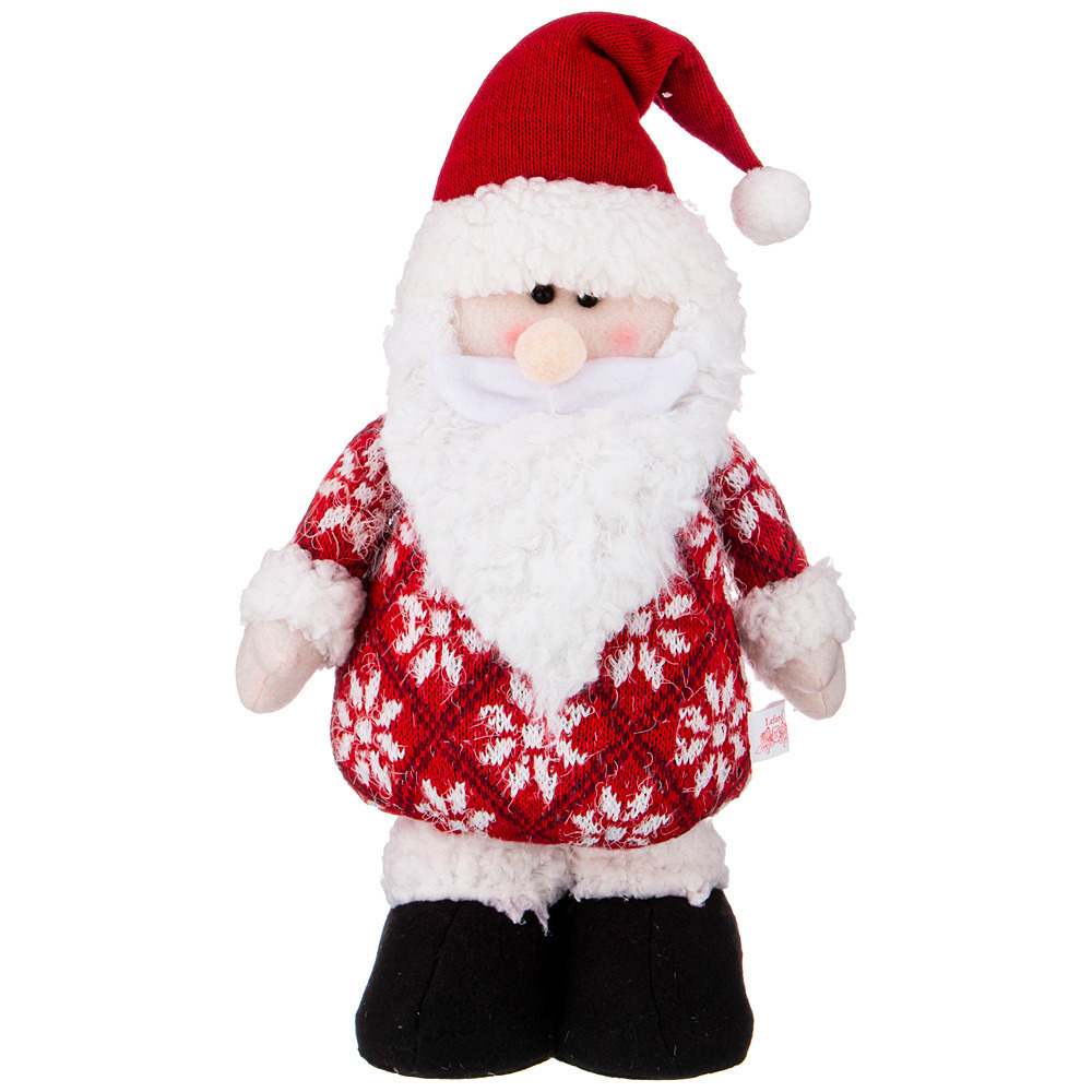 Фото - Фигурка Дед мороз 38 см фигурка дед мороз m97 дед мороз пластик текстиль красный