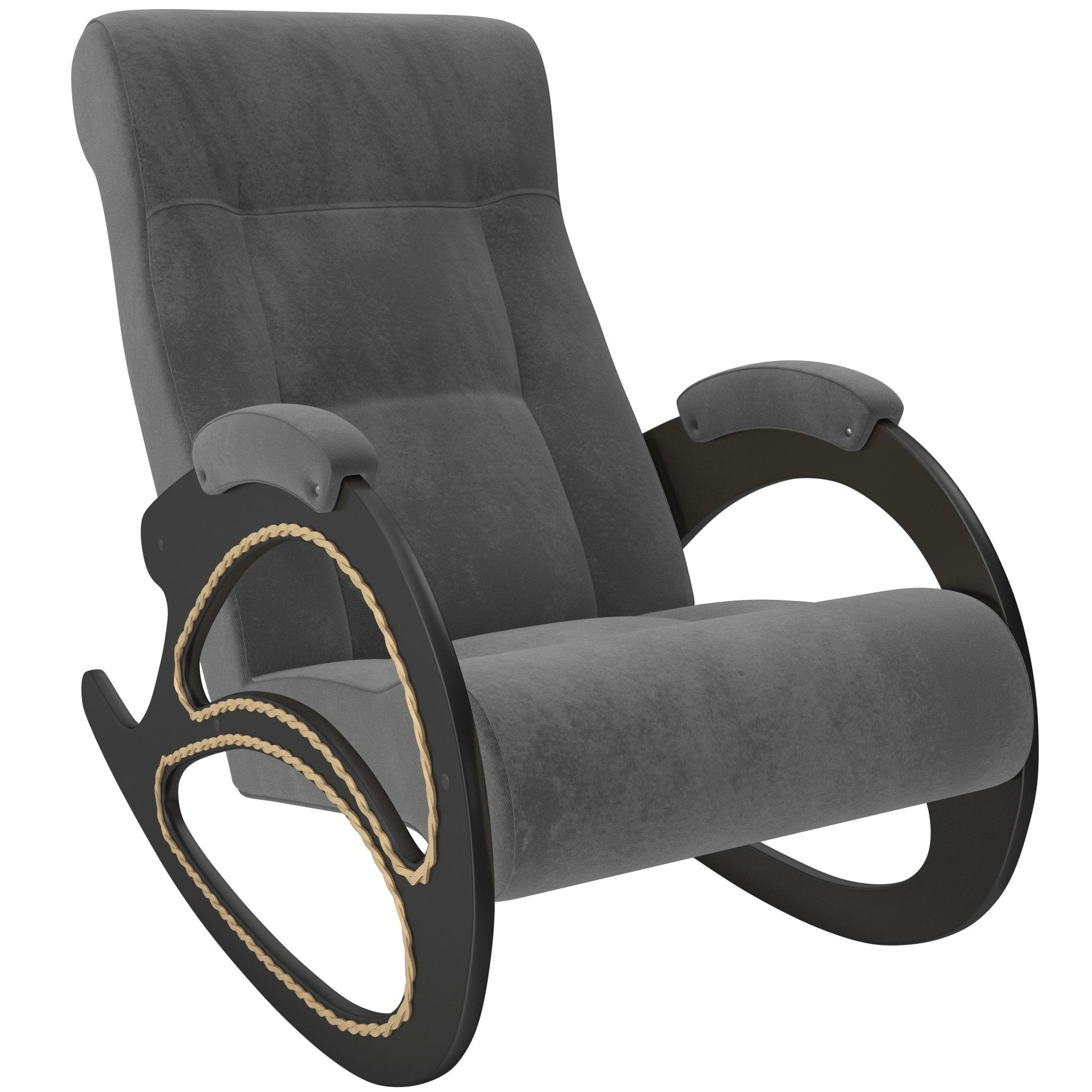Кресло-качалка модель 4 венге мягкие кресла
