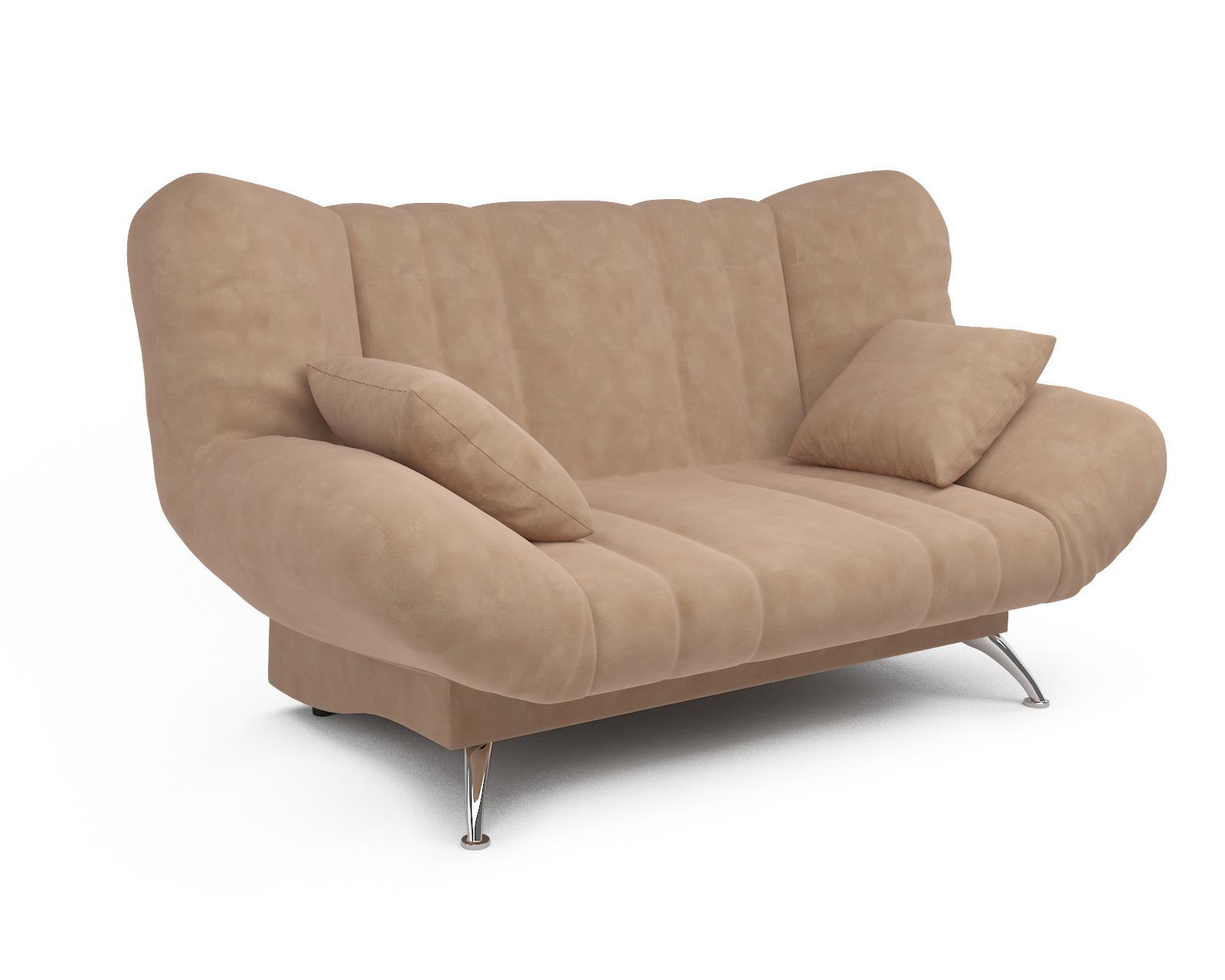 Прямой диван Голд (бежевый - Luna 061)