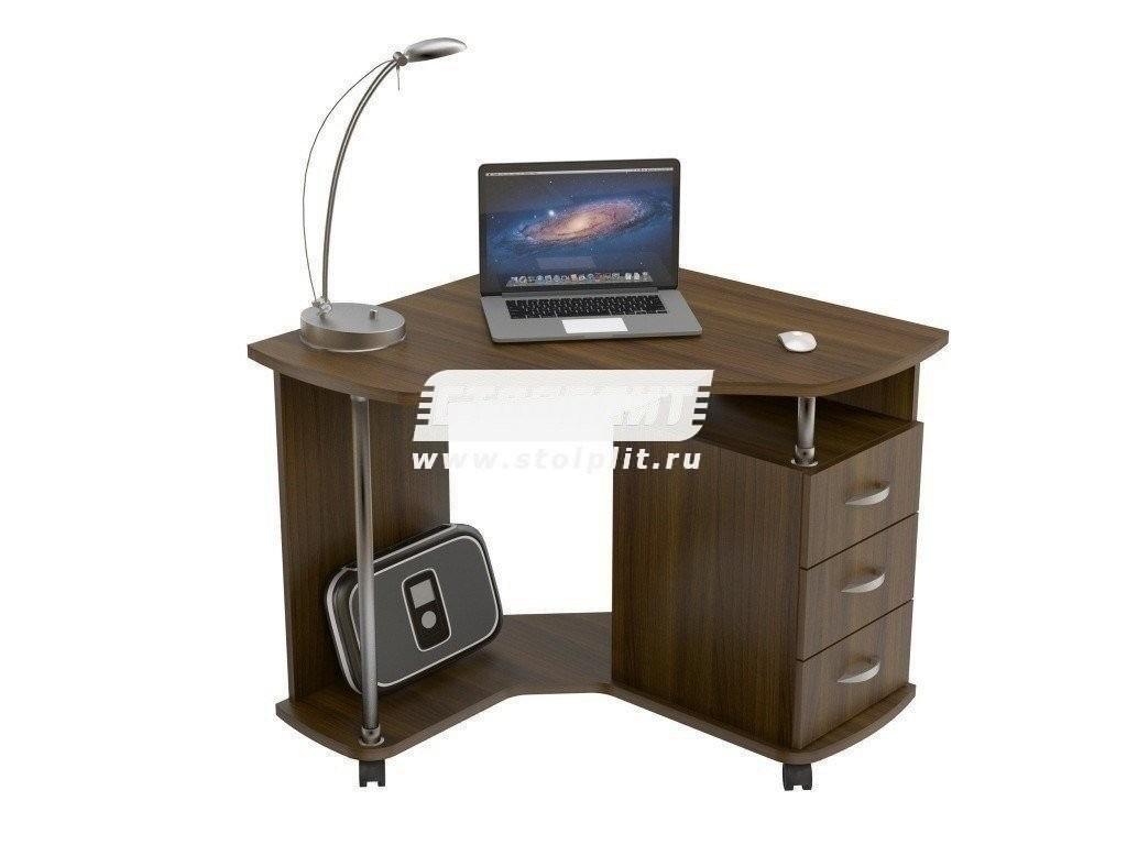 Стол компьютерный КС 2025Компьютерные столы<br><br><br>Длина мм: 880<br>Высота мм: 770<br>Глубина мм: 880