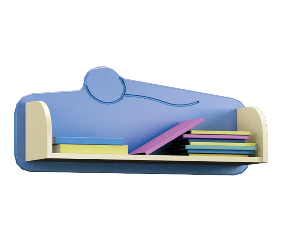 Денди СБ-1421 ПолкаПолки для гостиной<br>Компактная книжная полка для детской.<br><br>Длина мм: 776<br>Высота мм: 330<br>Глубина мм: 226