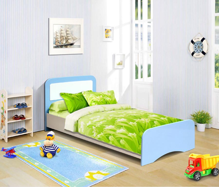 Кровать Лицей-2Детские кровати<br><br><br>Длина мм: 870<br>Высота мм: 890<br>Глубина мм: 1950