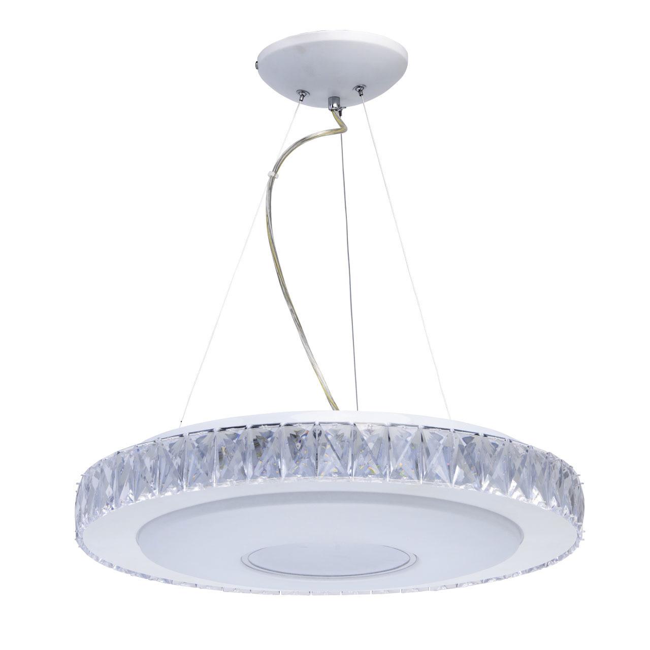 Люстра светодиодная с пультом ДУ Фризанте 1*30W LED 220 V