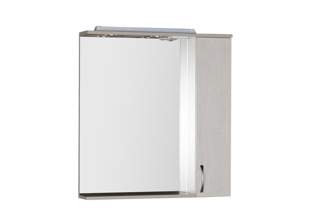 Зеркало Aquanet Донна 80Зеркало- шкаф для ванной<br><br><br>Длина мм: 0<br>Высота мм: 0<br>Глубина мм: 0<br>Цвет: Белый дуб