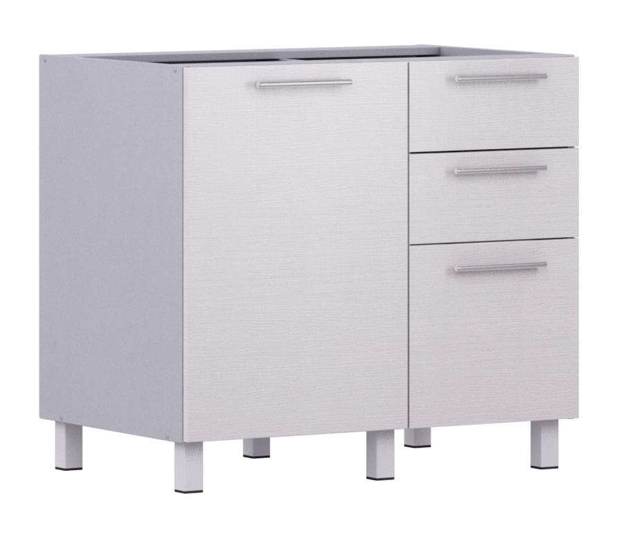 Анна АС-90 стол с ящиками и фасадомКухня<br><br><br>Длина мм: 900<br>Высота мм: 820<br>Глубина мм: 563